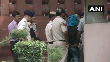 Gurmeet Ram Rahim Follower Attempts to Enter Parliament With Knife, Gets Arrested