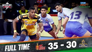Pro Kabaddi League 7 Results: Telugu Titans Outperform Tamil Thalaivas 35–30