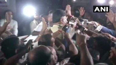 DK Shivakumar Arrested, Congress Workers Create Ruckus Outside ED Office