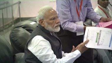 PM Narendra Modi to ISRO Scientists After Contact With Vikram Lander of Chandrayaan 2 Was Lost: 'Be Courageous, India is Proud of You'; Watch Video