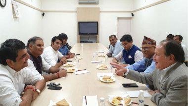 Delhi: Members of Congress, Nepali Congress Hold Meet