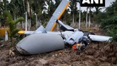 DRDO UAV 'Rustom-2' Crashes in Farmland in Karnataka (See Pics)