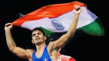 Rahul Aware Wins Bronze in World Wrestling Championships 2019; India Finish Event With Record Haul of Five Medals