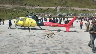 Helicopter Makes Emergency Landing in Kedarnath Due to Technical Snag