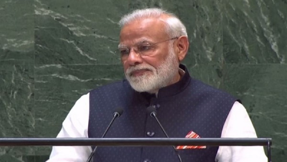 PM Narendra Modi at UNGA in New York: Prime Minister Highlights India's Steps to Combat Climate Change