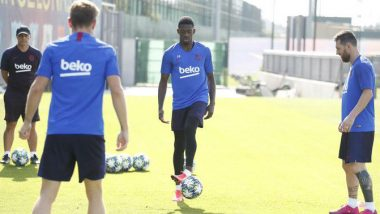 Lionel Messi, Ousmane Dembele Back for Barcelona Ahead of Clash Against Inter Milan in UEFA Champions League 2019
