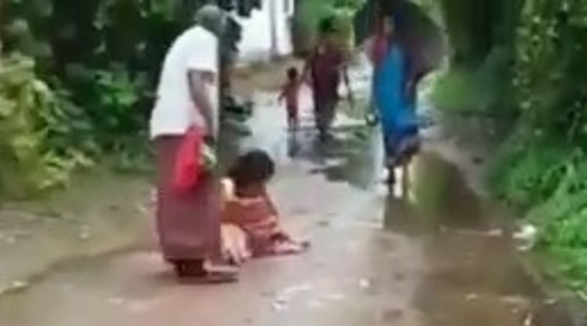 Odisha: Elderly Couple Thrashes Daughter-In-Law in Public, Video Goes Viral