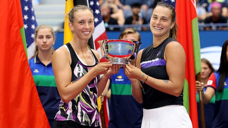 US Open 2019: Elise Mertens-Aryna Sabalenka Clinch Women's Doubles Title in the Grand Slam Tournament