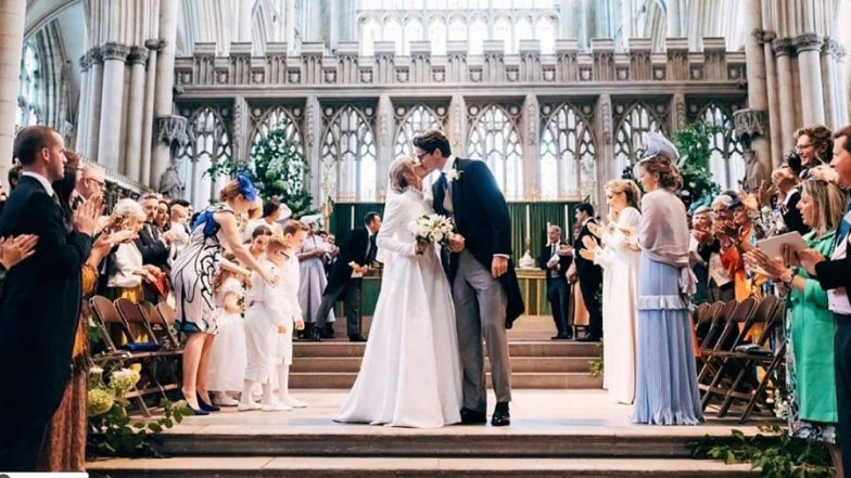 Ellie Goulding marries boyfriend Caspar Jopling