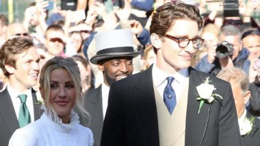 Singer Ellie Goulding and Caspar Jopling Are Married! Katy Perry, Orlando Bloom, Princess Beatrice and Others Grace the Royal Affair (View Wedding Pics)