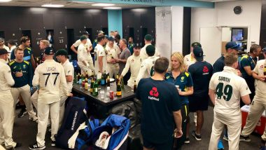Ashes 2019: England, Australia Share Drinks after Gruelling Five-Match Test Series Ends in 2–2 Draw (View Pic)
