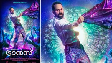 Trance New Poster: Fahadh Faasil Gives a Rockstar Vibe in This New Still From Anwar Rasheed's Film (View Pic)