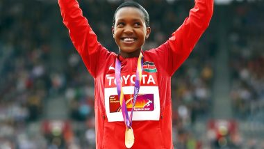 Faith Kipyegon, Olympic Champion Aims to Defend Her Title in World Athletics Championships 2019