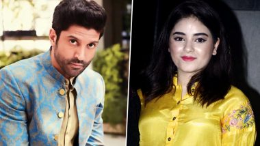 Zaira Wasim's Decision to Quit Films: The Sky Is Pink Actor Farhan Akhtar Hopes That the Young Actress Changes Her Mind