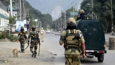 Jammu And Kashmir: Encounter Breaks Out Between Security Forces And Militants on Batote-Doda Highway in Ramban