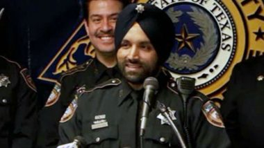 US First Turbaned Sikh Cop Sandeep Dhaliwal Shot Dead in Texas During Traffic Stop; Deeply Grieved, Says India