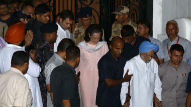 Tripura Congress Slams BJP-Led NDA Govt for Removing SPG Cover of Sonia, Rahul and Priyanka Gandhi