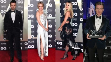 GQ Men of the Year 2019 Red Carpet: Sebastian Stan, Richard Madden, Kylie Minogue, Elle Fanning Turned Up Looking Super Dapper!