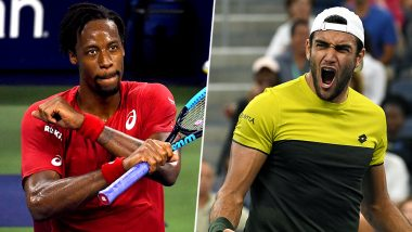 Gael Monfils vs Matteo Berrettini, US Open 2019 Live Streaming & Match Time in IST: Get Telecast & Free Online Stream Details of Quarter-Final Match in India