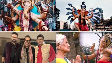 Ganesh Chaturthi 2019 Song Ganpati Bappa Padhaare: Shankar Mahadevan with Sons Siddharth-Shivam Release Devotional Track to Welcome Lord Ganesha (Watch Video)