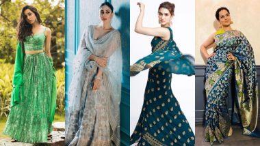 Ganesh Chaturthi 2019: Kriti Sanon, Shraddha Kapoor, Kareena Kapoor Khan Have The Perfect Style File For Your Pandal Visits!
