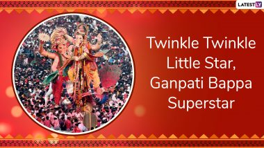 Ganpati Visarjan Slogans For Anant Chaturdashi 2019: Unique Phrases and Sayings to Chant During Final Ganesh Immersion Processions