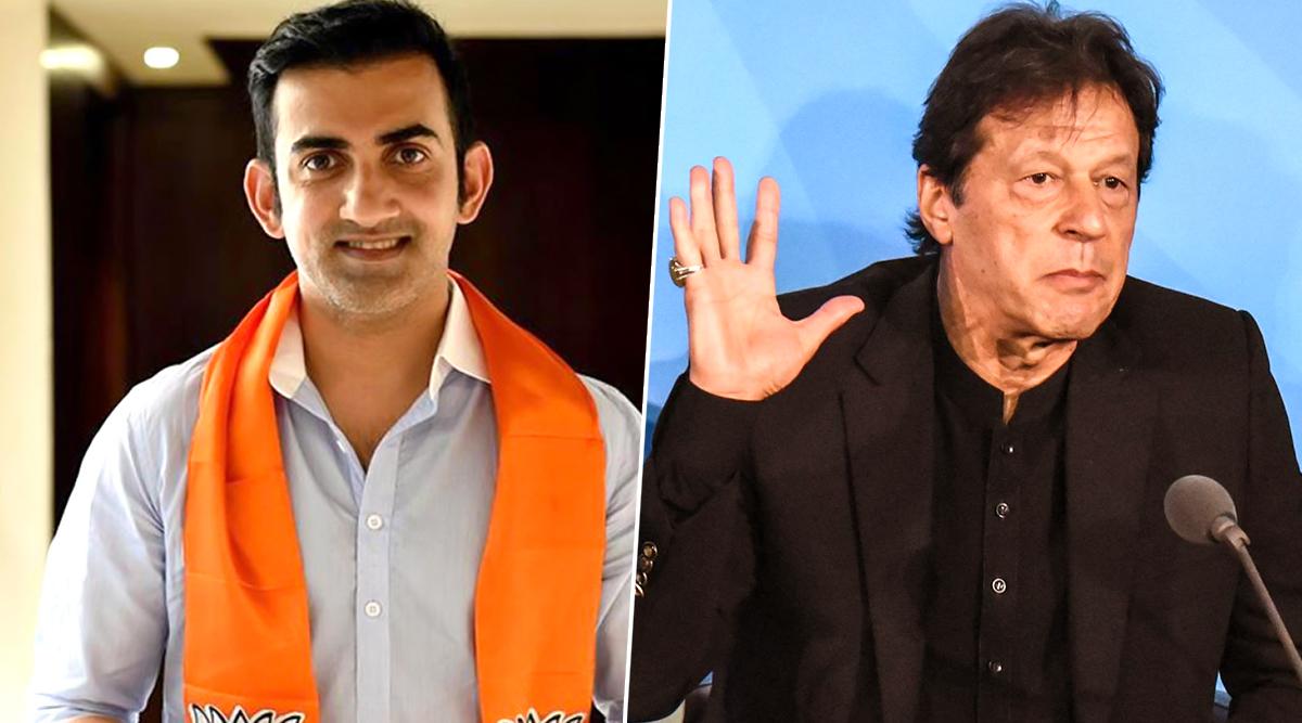 Gautam Gambhir Terms Imran Khan 'Role Model for Terrorists', Calls For Excommunicating Pakistan Prime Minister From Sports Community