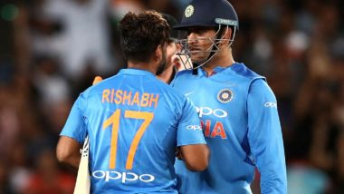Rishabh Pant Expresses His Admiration for MS Dhoni, Says 'I Love Him and Not Bothered About Comparisons'