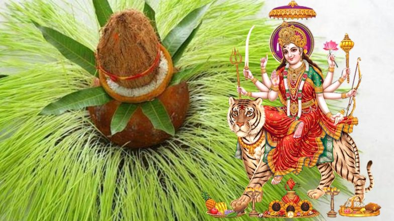 Ghatasthapana Puja 2019 Date and Shubh Muhurat Time on Navratri Day 1: Kalash Sthapana Puja Vidhi With Shubh Muhurat to Start Nine-Day Festival Dedicated to Goddess Durga