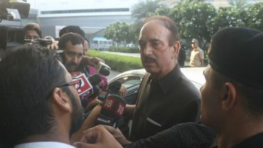 Ghulam Nabi Azad Moves Supreme Court Challenging Jammu And Kashmir Lockdown Post Article 370 Repeal