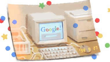 Google Turns 21! Search Engine Celebrates Birthday With Google Doodle of Picture From 1998