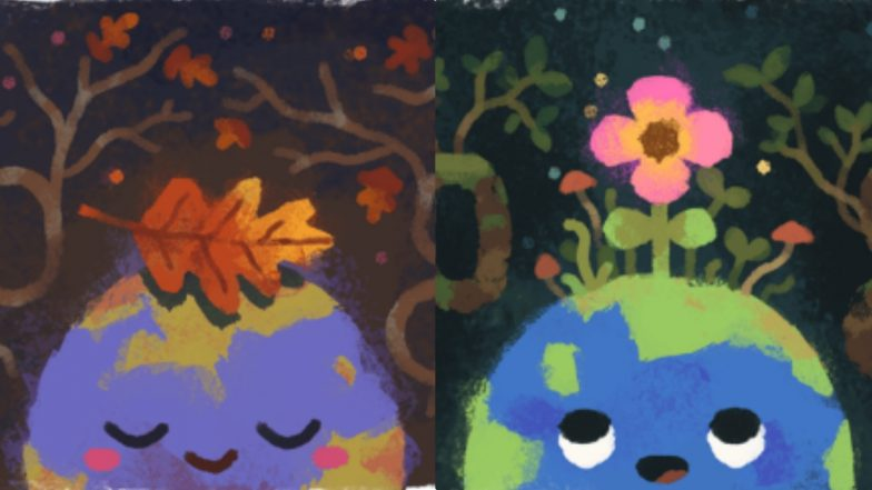 Google Doodle for Fall 2019 and Spring 2019 Will Make Everyone Living in Northern and Southern Hemisphere Very Very Happy!