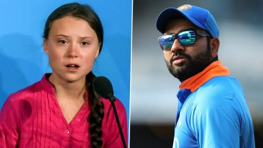 Rohit Sharma Praises Greta Thunberg After She Delivers a Passionate Speech at UN Climate Action Summit, Says 'You Are an Inspiration'
