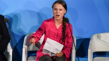 Greta Thunberg's 'How Dare You' Speech at UN Wins Twitterati's Hearts, Activist's Quotes on Climate Change Goes Viral