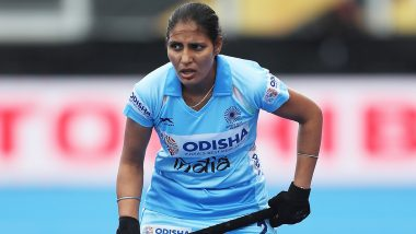 India Women's Team Defeat Great Britain 2–1 in Hockey, Gurjit Kaur's Last-Minute Goal Bags Limelight