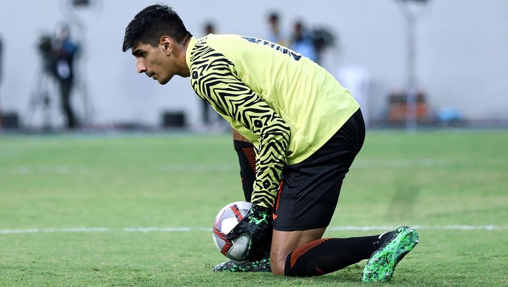 Gurpreet Singh Sandhu is One of Top Three Goalkeepers in Asia, Says Sandip Nandy
