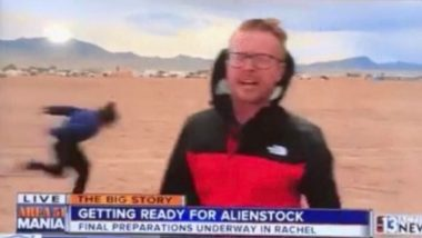 Area 51 Video: This Guy's Naruto Run Behind a Reporter on Live TV During Alienstock Festival Has The Internet Laughing!