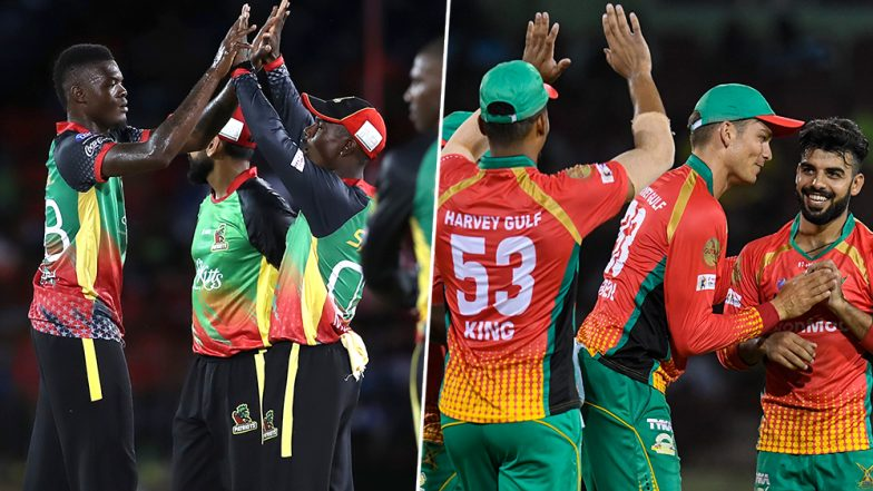 Guyana Amazon Warriors vs St Kitts and Nevis Patriots, CPL 2019 Match LIVE Cricket Streaming on Star Sports and Hotstar: Live Score, Watch Free Telecast on TV & Online