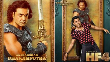 Housefull 4 New Poster: Bobby Deol's Name in the Film Has a Connection with Sunny Deol and Dharmendra (See Pics)