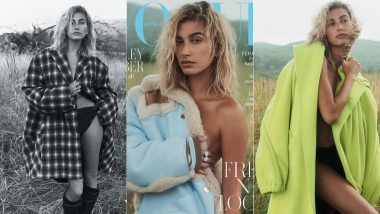 Hailey Baldwin Bieber Strips Down To Nothing But A Trenchcoat For The Cover of Vogue Australia - View Pics