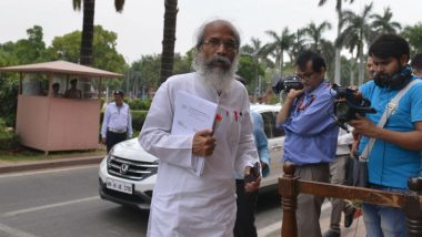 No Right to Live in India if You Can't Accept Vande Mataram, Says Union Minister Pratap Chandra Sarangi; (Watch Video)