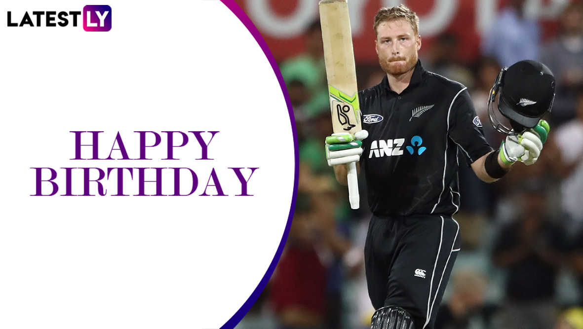 Happy Birthday Martin Guptill: A Look at Some Magnificent Innings Played by the Star New Zealand Opener