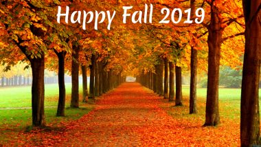 Happy Fall 2019 Images! Here Are Greetings, Wishes, Tweets and GIFs for Autumnal Equinox That Will Take Away Your Mid-Week Blues
