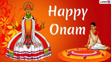 Happy Onam 2019 Wishes: WhatsApp Stickers, GIF Image Messages, Quotes, SMS, Facebook Status to Send Onam Greetings