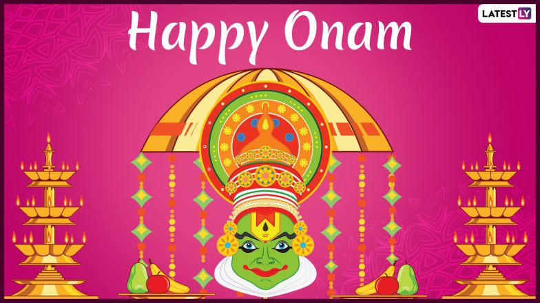 Onam 2019 Wishes and Greetings: WhatsApp Stickers, Onam Ashamsakal Messages, Images, SMS, GIFs, Quotes and Wishes to Send on Thiruvonam!