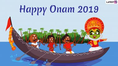 Onam 2019 Images & HD Wallpapers for Free Download Online: Wish Happy Onam With Beautiful WhatsApp Stickers, GIF Greetings & Picture Messages