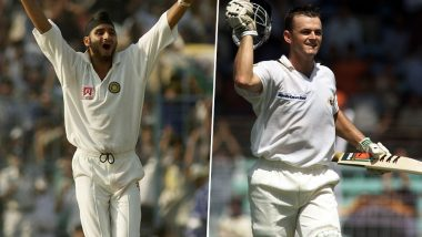 Adam Gilchrist Credits 'No DRS' Behind Harbhajan Singh's Test Hat-trick in 2001, Indian and Australian Cricket Fans Engage in Twitter Debate