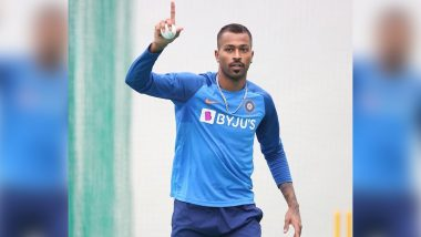 Hardik Pandya Posts a Picture on Instagram With Caption 'Great to Be Back With the Team' Ahead of IND vs SA 1st T20I Match