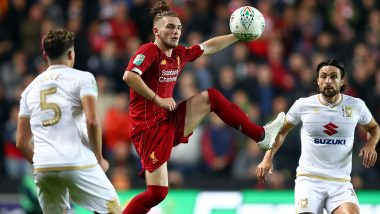 Carabao Cup 2019–20: Harvey Elliott at 16 Becomes Youngest Player Ever to Start for Liverpool