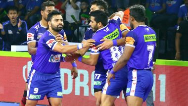 PKL 2019 Today's Kabaddi Matches: October 2 Schedule, Start Time, Live Streaming, Scores and Team Details In VIVO Pro Kabaddi League 7